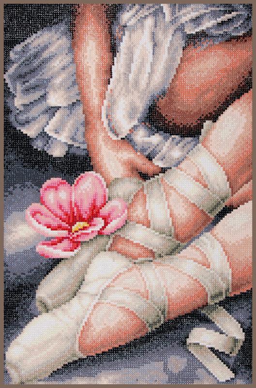 Lanarte diamond painting kit mijn kleine ballerina's