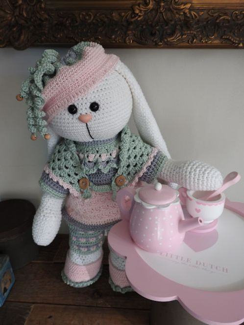 XXL Funny Bunny Kledingset Spring Soft