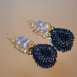Cateye en glassberry blauw