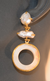Zoetwaterparels en mother pearl