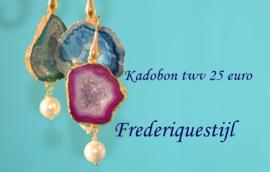 Kadobon 25 euro