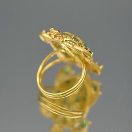 Ring turtle green
