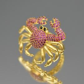 Ring crab pink zircons
