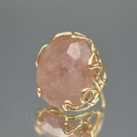 Ring strawberry kwarts xl