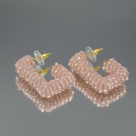 Glassberry hoops roze
