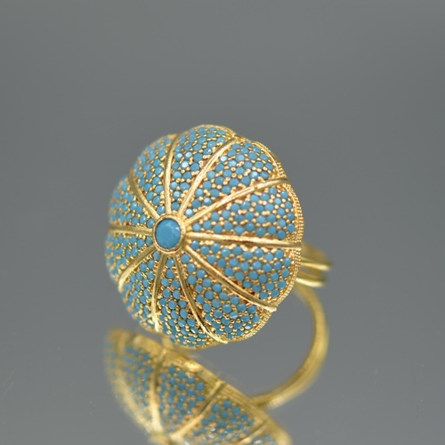 Ring sea urchin turquoise