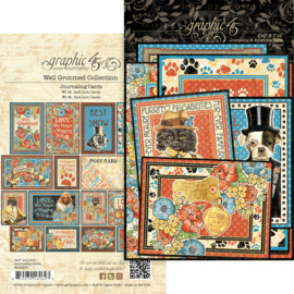 Graphic 45 Well Groomed Journaling Cards