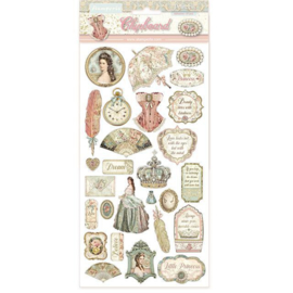 Stamperia Princess Chipboard