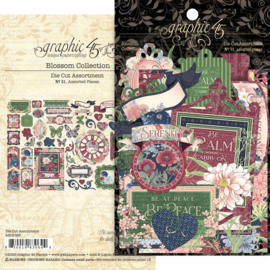 Graphic 45 Blossom Die-cut Assortment