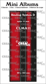 Crealies Mini Albums Binder D (11 mm Spine)