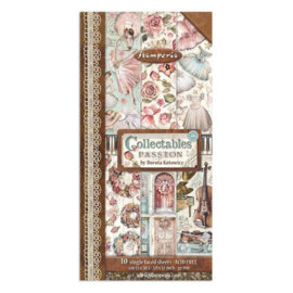 Stamperia Passion 6x12 Inch Paper Pack