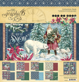 Pre-order Graphic 45 Let it Snow 12x12 Collection Pack