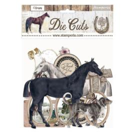 Stamperia Romantic Horses Die Cuts