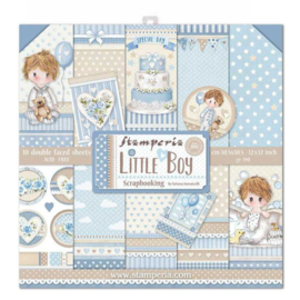 Stamperia Little Boy 12x12 Inch Paper Pack