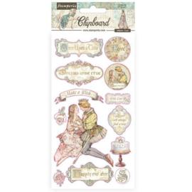 Stamperia Sleeping Beauty Chipboard
