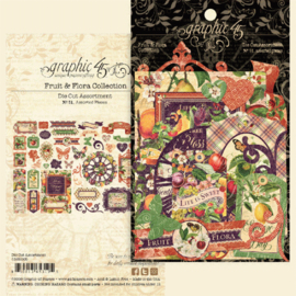 Graphic 45 Fruit & Flora Die-cut Assortment