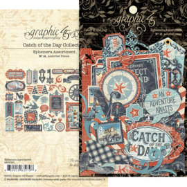 Graphic 45 Catch of the Day Die-cut Assortment