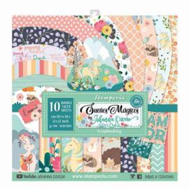 Stamperia Suenos Magicos 12x12 Inch Paper Pack