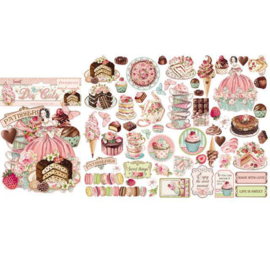 Stamperia Sweety Die Cuts