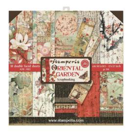 Stamperia Oriental Garden 12x12 Inch Paper Pack