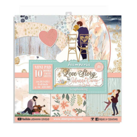Stamperia Love Story 8x8 Inch Paper Pack