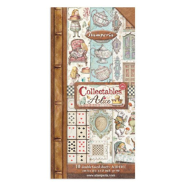 Stamperia Alice Through the Looking Glass 6x12 Inch Paper Pack