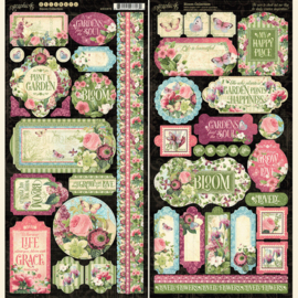 Graphic 45 Bloom Stickers