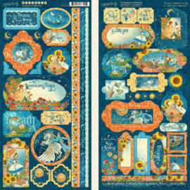 Graphic 45 Dreamland Stickers