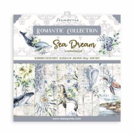 Stamperia Romantic Sea Dream 8x8 Inch Paper Pack