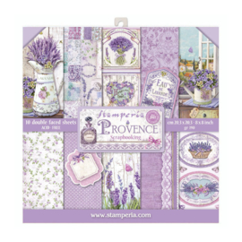 Stamperia Provence 8x8 Inch Paper Pack