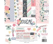 Echo Park You & Me 12x12 Inch Collection Kit