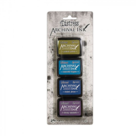 Distress Archival Mini Ink Pad Kit #2