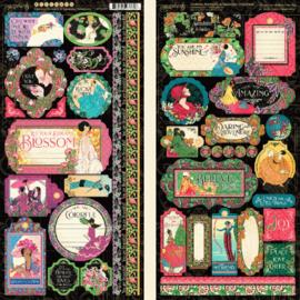 Graphic 45 Fashion Forward Stickers
