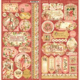 Graphic 45 Princess Stickers