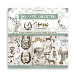 Stamperia Romantic Horses 8x8 Inch Paper Pack