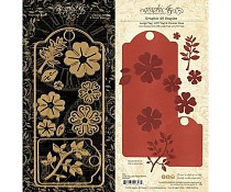 Graphic 45 Large Tag, ATC Tag & Flower Dies