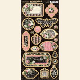 Graphic 45 Elegance Chipboard