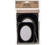 Tim Holtz Idea-ology Cabinet Card Frames Sophisticate