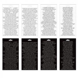 Tim Holtz Idea-ology Small Talk Snarky Stickers