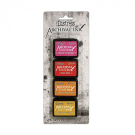 Distress Archival Mini Ink Pad Kit #1