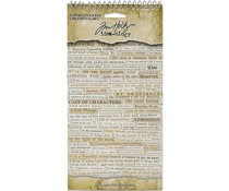 Tim Holtz Idea-ology Clipping Stickers Book