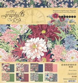 Graphic 45 Blossom 8x8 Paper Pad