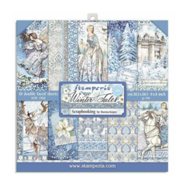 Stamperia Winter Tales 8x8 Inch Paper Pack
