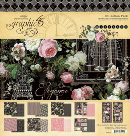 Pre-order Graphic 45 Elegance 12x12 Collection Pack