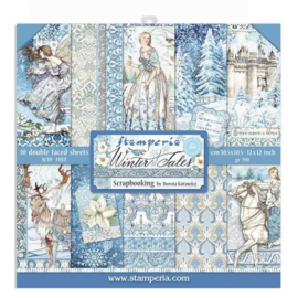 Stamperia Winter Tales 12x12 Inch Paper Pack