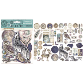Stamperia Cosmos Die Cuts