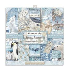 Stamperia Arctic Antarctic 8x8 Inch Paper Pack