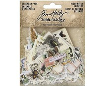Tim Holtz Idea-ology Field Notes Ephemera Snippets