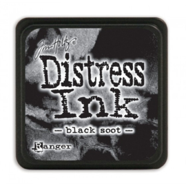 Tim Holtz Distress Mini Ink Black Soot