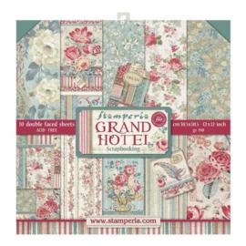 Stamperia Grand Hotel 12x12 Inch Paper Pack